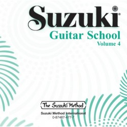 CD - SUZUKI GUITAR SCHOOL VOLUME 4