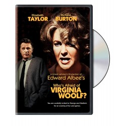 DVD. WHO'S AFARID OF VIRGINA WOOLF?