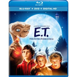 Blu-ray + DVD. E.T, THE EXTRATERRESTRIAL