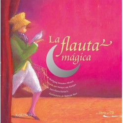 Libro. LA FLAUTA MÁGICA - LIBRO CON CD