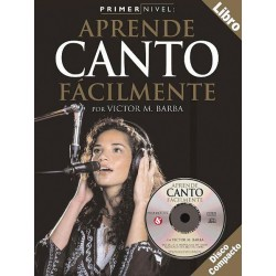 APRENDE CANTO FÁCILMENTE - INCLUYE CD
