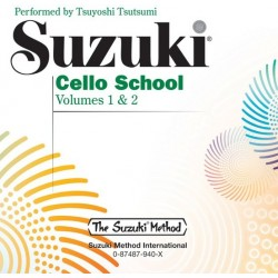 CD - SUZUKI CELLO SCHOOL - VOLUMES 1 & 2