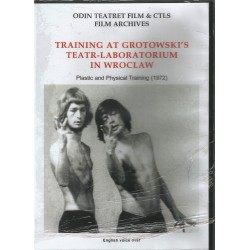 DVD. ODIN TEATRE. TRAINING AT GROTOWSKI'S TEATR-LABORATORIUM IN WROCLAW