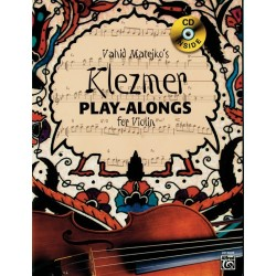 Partitura. VAHID MATEJKO'S KLEZMER PLAY-ALONGS FOR VIOLIN - Violin Book & CD
