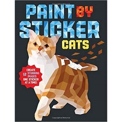 PAINT BY STICKER. CATS