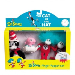 THE CAT IN THE HAT FINGER PUPPET SET