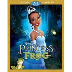 BLURAY. THE PRINCESS AND THE FORG