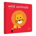 Libro. Wild Animals: Touch Think Learn
