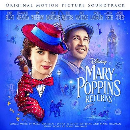 CD. MARY POPPINS RETURNS. Original Soundtrack