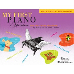 Libro. MY FIRST PIANO ADVENTURE - Writing Book C