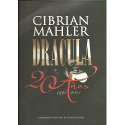 DVD. DRÁCULA. Cibrian - Mahler