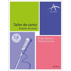 Libro. TALLER DE CANTO - EL PLACER DE CANTAR