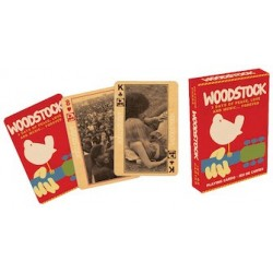 Cartas. WOODSTOCK PLAYING CARDS