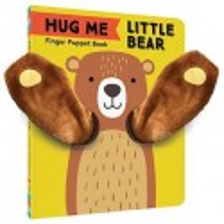 Libro. HUG ME LITTLE BEAR - FINGER PUPPET BOOK