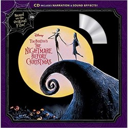 Libro + CD. THE NIGHTMARE BEFORE CHRISTMAS