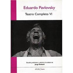 Libro. TEATRO COMPLETO Vll - EDUARDO PAVLOVSKY