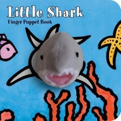 Libro. LITTLE SHARK - FINGER PUPPET BOOK
