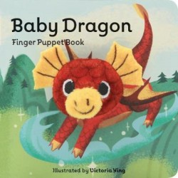 Libro. BABY DRAGON- FINGER PUPPET BOOK