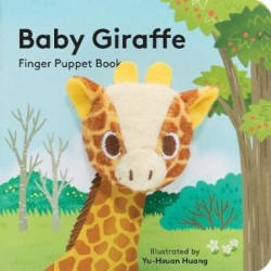 Libro. BABY GIRAFFE- FINGER PUPPET BOOK