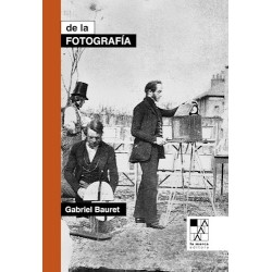 Libro. DE LA FOTOGRAFÍA