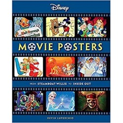 Libro. Disney Movie Posters: From Steamboat Willie to Inside Out