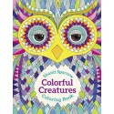 Libro de colorear. SHANTI SPARROW: COLORFUL CREATURES