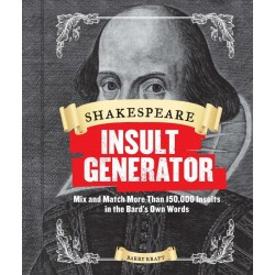 Libro. SHAKESPEARE INSULT GENERATOR