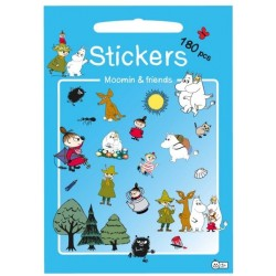 Stickers. MOOMIN AND FRIENDS