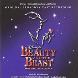 CD. BEAUTY AND THE BEAST. Original Broadway cast recording